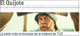 El Quijote en rtve